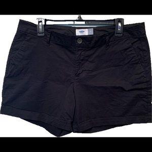 Old Navy Woman's Black Shorts